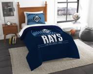 Tampa Bay Rays Grand Slam Twin Comforter Set