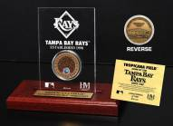Tampa Bay Rays Infield Dirt Etched Acrylic