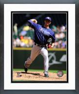 Tampa Bay Rays Jake Odorizzi 2014 Action Framed Photo