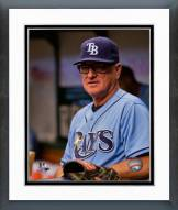 Tampa Bay Rays Joe Maddon 2014 Action Framed Photo