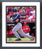 Tampa Bay Rays Logan Forsythe 2014 Action Framed Photo