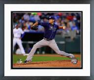 Tampa Bay Rays Matt Moore 2014 Action Framed Photo