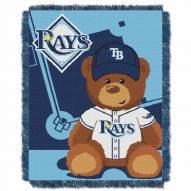 Tampa Bay Rays MLB Baby Blanket