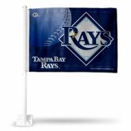 Tampa Bay Rays MLB Car Flag