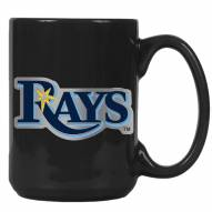 Tampa Bay Rays MLB 2-Piece Ceramic Coffee Mug Set