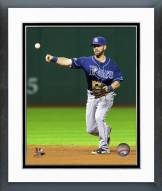 Tampa Bay Rays Nick Franklin 2014 Action Framed Photo