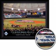 Tampa Bay Rays Personalized Framed Stadium Print