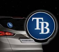 Tampa Bay Rays Light Up Power Decal