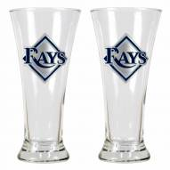 Tampa Bay Rays Premiere Pilsner Glass Set
