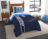 Tampa Bay Rays Twin Comforter & Sham Set