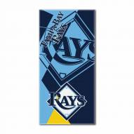 Tampa Bay Rays Puzzle Beach Towel