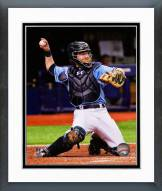 Tampa Bay Rays Ryan Hanigan 2014 Action Framed Photo