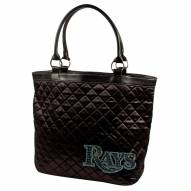 Tampa Bay Rays Sport Noir Quilted Tote