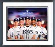 Tampa Bay Rays Tampa Bay Rays 2014 Team Composite Framed Photo