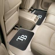 Tampa Bay Rays Vinyl 2-Piece Rear Floor Mats