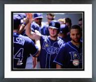 Tampa Bay Rays Wil Myers 2014 Action Framed Photo