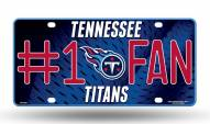 Tennessee Titans #1 Fan License Plate