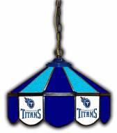 "Tennessee Titans 14"" Glass Pub Lamp"