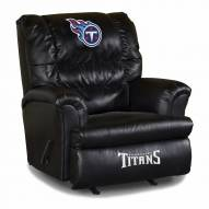 Tennessee Titans Big Daddy Leather Recliner