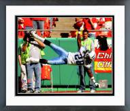 Tennessee Titans Chris Johnson 2008 Action Framed Photo