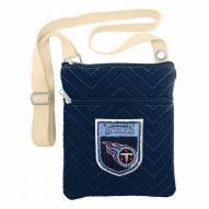 Tennessee Titans Crest Chevron Crossbody Bag
