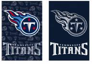 Tennessee Titans Double Sided Glitter Flag