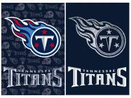 Tennessee Titans Double Sided Glitter Garden Flag