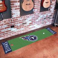 Tennessee Titans Golf Putting Green Mat