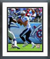Tennessee Titans Jake Locker 2014 Action Framed Photo