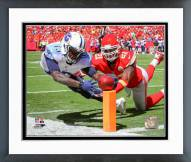 Tennessee Titans Kendall Wright 2014 Action Framed Photo