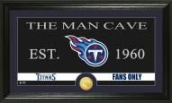 Tennessee Titans Man Cave Bronze Coin Panoramic Photo Mint