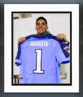 Tennessee Titans Marcus Mariota 2015 NFL Draft #2 Pick Framed Photo