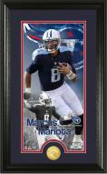 Tennessee Titans Marcus Mariota Supreme Bronze Coin Panoramic Photo Mint