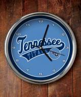 Tennessee Titans NFL Chrome Wall Clock