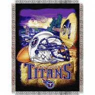 Tennessee Titans NFL Woven Tapestry Throw