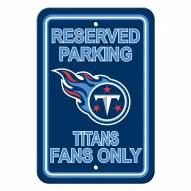Tennessee Titans Parking Sign - Set of 2