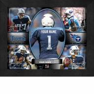 Tennessee Titans Personalized Framed Action Collage