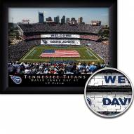 Tennessee Titans Personalized Framed Stadium Print