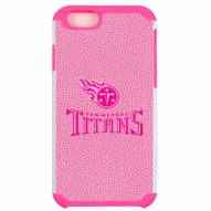 Tennessee Titans Pink Pebble Grain iPhone 6/6s Plus Case