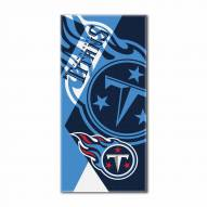 Tennessee Titans Puzzle Beach Towel