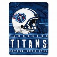 Tennessee Titans Silk Touch Stacked Blanket