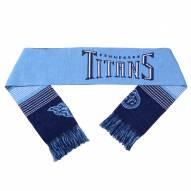 Tennessee Titans Split Logo Reverse Scarf