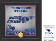 Tennessee Titans State Bronze Coin Photo Mint