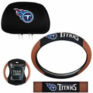 Tennessee Titans Steering Wheel & Headrest Cover Set
