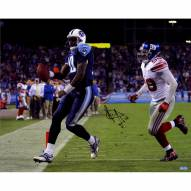 "Tennessee Titans Vince Young Touchdown vs. Giants Signed 16"" x 20"" Photo"