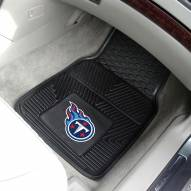 Tennessee Titans Vinyl 2-Piece Car Floor Mats