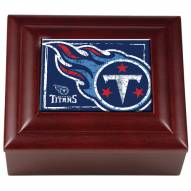 Tennessee Titans Wood Keepsake Box