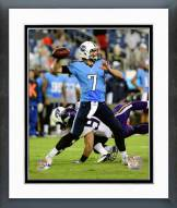 Tennessee Titans Zach Mettenberger 2014 Action Framed Photo