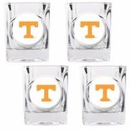 Tennessee Volunteers 4 Piece Square Shot Glasses