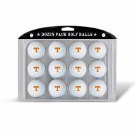 Tennessee Volunteers Dozen Golf Balls